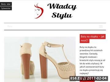 Zrzut strony Wizażystka Kraków