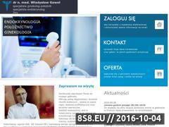 Miniaturka domeny wladyslawgawel.lek-med.pl