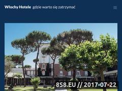 Miniaturka wlochyhotele.pl (Przewodnik po obiektach hotelowych we Włoszech)