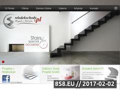 Miniaturka domeny www.wlodekschody.pl