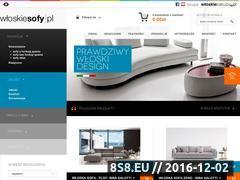 Miniaturka domeny www.wloskiesofy.pl
