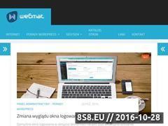 Miniaturka wmat.pl (Hosting i domeny dla firm oraz osób prywatnych)