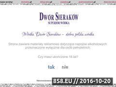 Miniaturka domeny www.wodkadworsierakow.pl