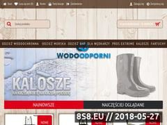 Miniaturka wodoodporni.pl (Wodoodporni to sklep z odzieżą wodoodporną)