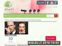 Miniaturka wojart.pl (Bilety do teatru, bilety na spektakle - Poznań)