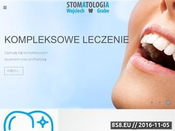 Zrzut strony Leczenie zębów u dzieci i dorosłych