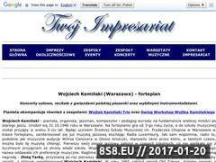 Miniaturka domeny wojciechkaminski.twoj-impresariat.pl