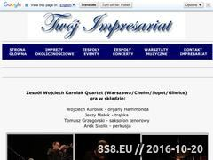 Miniaturka domeny wojciechkarolakquartet.twoj-impresariat.pl