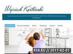 Miniaturka wojciechkwitowski.pl (Doradca kredytowy Warszawa)