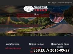 Miniaturka domeny www.wojnowski-trans.pl