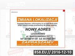Miniaturka domeny www.wojtex-serwis.pl