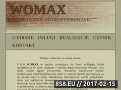 Miniaturka domeny womax-piaskowanie.pl
