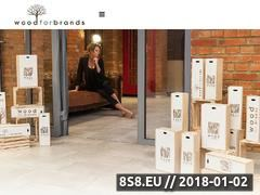 Miniaturka wood4brands.pl (Producent opakowań drewnianych)