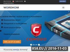 Miniaturka domeny wordkom.pl