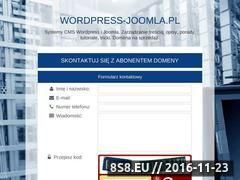 Miniaturka wordpress-joomla.pl (Joomla i WordPress)