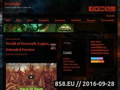 Miniaturka world-of-warcraft.com.pl (Fansite World of Warcraft)