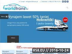 Miniaturka domeny www.worldtrans.pl