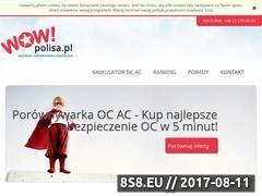 Miniaturka wowpolisa.pl (OC Kalkulator)