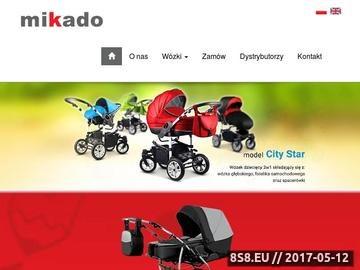 Zrzut strony Wózki dziecięce Mikado