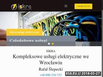 Zrzut strony Elektryk Wrocław
