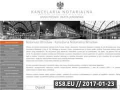 Miniaturka domeny wroclaw-notariusz.com