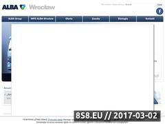 Miniaturka domeny www.wroclaw.alba.com.pl
