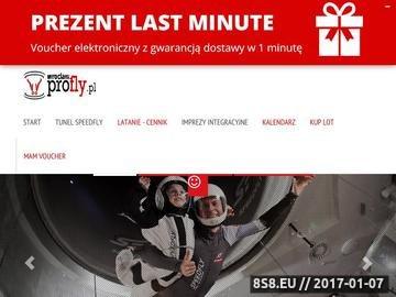 Zrzut strony Tunel SpeedFly Wrocław