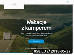 Miniaturka wroclawkamper.pl (Wynajem i wypożyczanie kamperów we Wrocławiu)