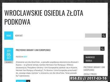 Zrzut strony Nieruchomości Złota Podkowa - forum