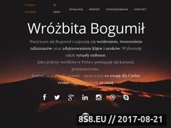 Miniaturka www.wrozbitabogumil.com (Wróżby, talizmany i rytuały miłosne oraz blog)