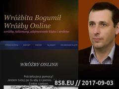 Miniaturka www.wrozbitabogumil.pl (Wróżbita Bogumił)