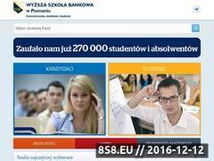 Miniaturka domeny www.wsb.poznan.pl