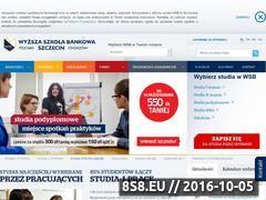 Miniaturka domeny www.wsb.szczecin.pl
