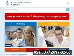Miniaturka domeny www.wsb.torun.pl