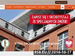 Miniaturka domeny www.wseiz.pl