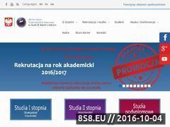 Miniaturka wsge.edu.pl (Studia wyższe)