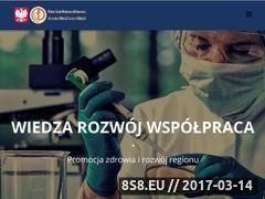 Miniaturka wsmed.edu.pl (Wyższa szkoła medyczna w Białymstoku)
