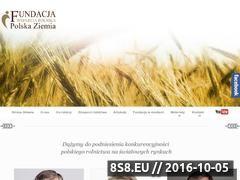 Miniaturka Fundacja Wsparcia Rolnika Polska Ziemia (wsparcierolnika.pl)