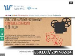 Miniaturka domeny www.wspkorczak.eu