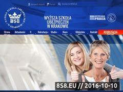 Miniaturka www.wsu.pl (Studia - bankowość, Kraków)