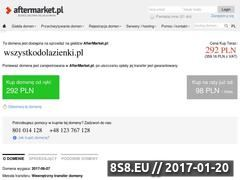 Miniaturka domeny wszystkodolazienki.pl