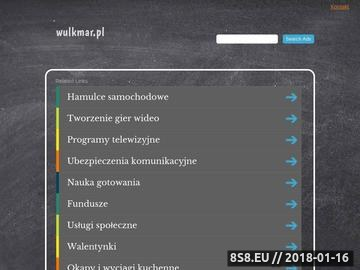 Zrzut strony WULKMAR - sprzedaż felg aluminiowych KESKIN i MAM