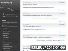 Miniaturka wwwhosting.pl (Darmowe konta www - sponsoring)