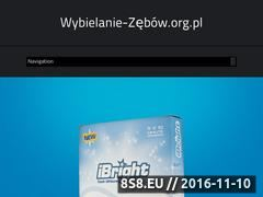Miniaturka domeny wybielanie-zebow.org.pl