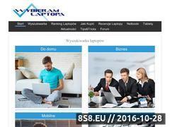 Miniaturka wybieramlaptopa.pl (Ranking laptopów, recenzje notebooków i poradniki)