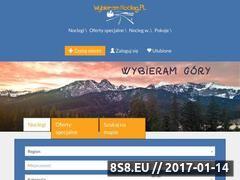 Miniaturka wybieramnocleg.pl (Baza z ofertami noclegowymi - Wisła i Zakopane)