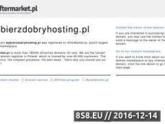 Miniaturka wybierzdobryhosting.pl (Wybierz Dobry Hosting)