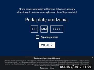 Zrzut strony Wyborowa - polska czysta wódka