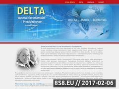 Miniaturka domeny www.wycenydelta.pl