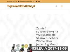 Miniaturka wyciskarkisokow.pl (Wyciskarki wolnoobrotowe do soków i warzyw)